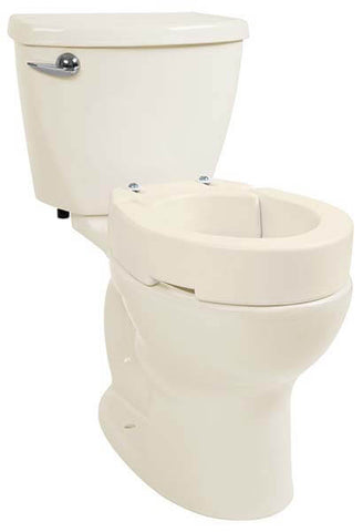 Cream Plastic Toilet Seat. Raised Toilet Seat Riser by Vive  10 Best Seats for Elderly Adults Health