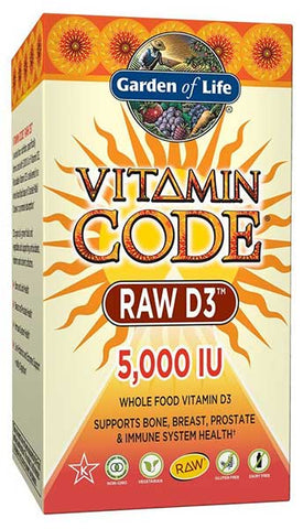 Raw D3 Supplement by Garden of Life