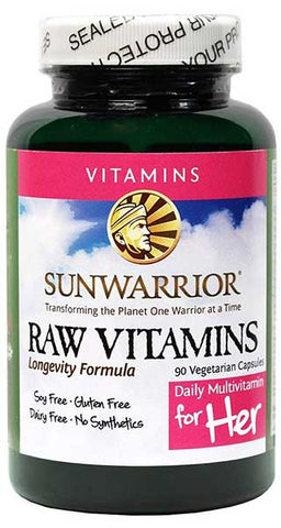 Raw Multivitamins for Her by Sunwarrior