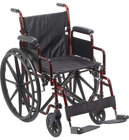 Rebel Lightweight Wheelchair by Drive Medical