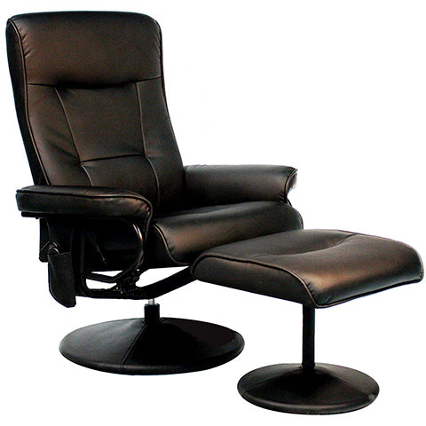 Recliner Chair with Eight-Motor Massage by Relaxzen