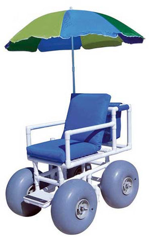 Reclining Beach Wheelchair by Healthline
