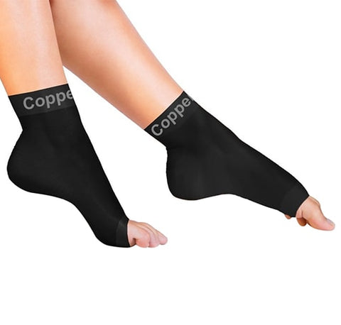 Recovery Support Socks by Copper Compression
