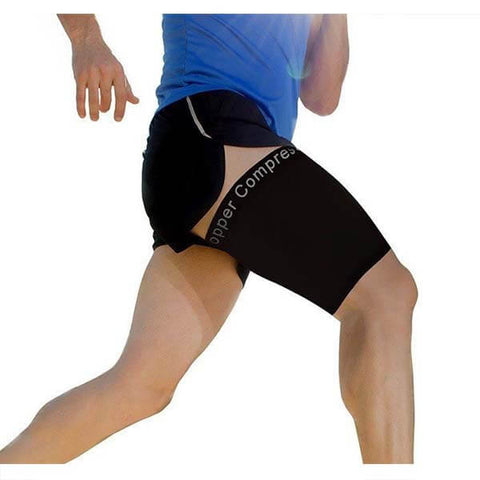 Recovery Thigh Sleeve by Copper Compression