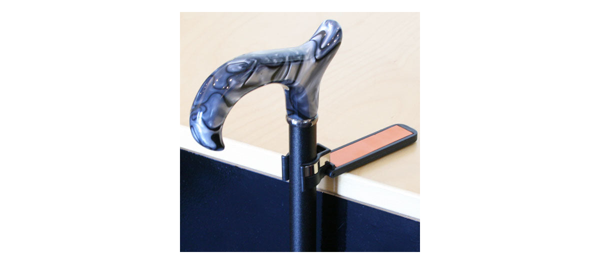 Reflective Cane Holder by Charles Buyer