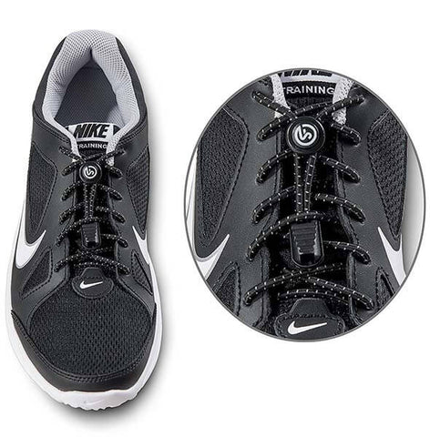 Reflective No Tie Shoelaces by Sport Freak USA