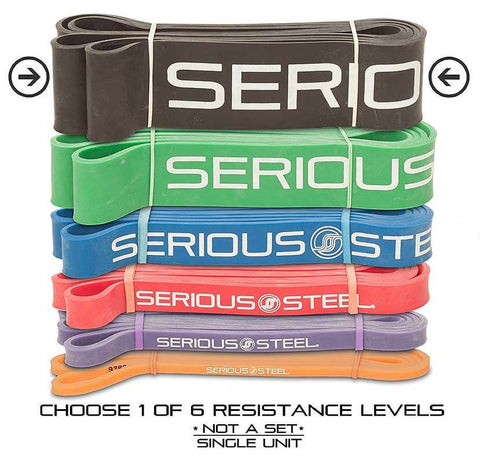Resistance and Stretch Bands by Serious Steel