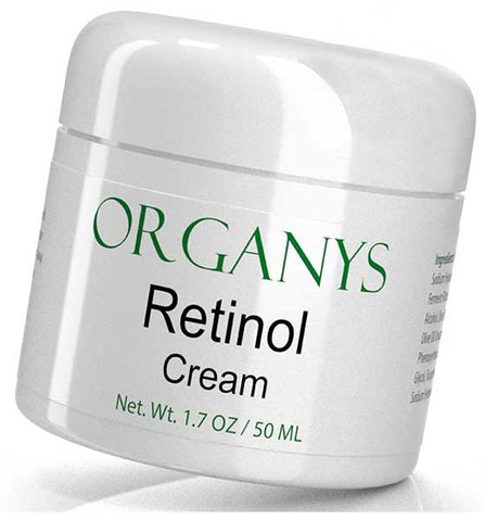 Retinol Cream with Hyaluronic Acid and Aloe Vera by Organys