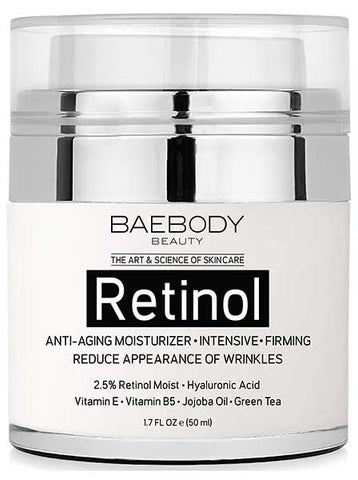 Retinol Moisturizer Cream for Face and Eyes by Baebody