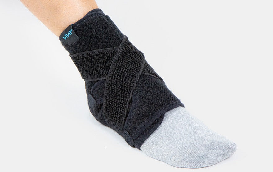 Sprained ankle brace