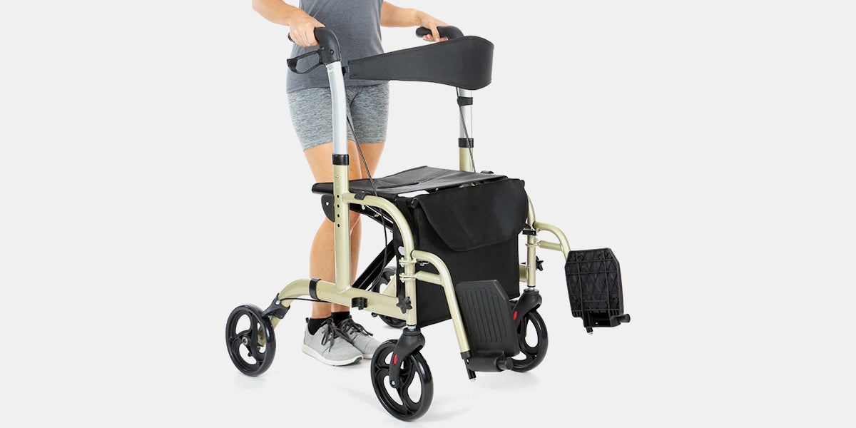 Rollator Walker by Vive