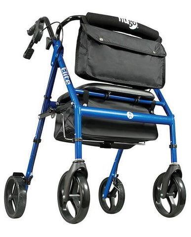 Rollator Walker with Seat by Hugo Mobility