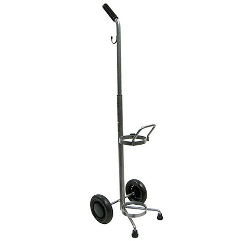 Rolling Two-Wheel Oxygen Tank Carrier by Drive Medical