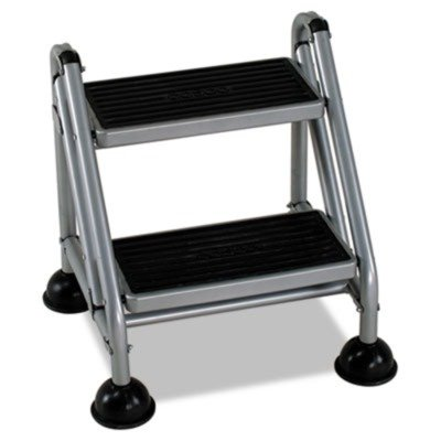 Superbe Rolling Commercial Step Stool By Bridgeport ...