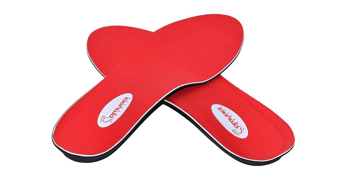 Samurai Orthotics for Flat Feet