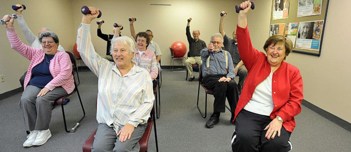 Marvelous Chair Exercises Improve Strength, Cardiovascular Health, And  Flexibilityu2014all While Having A Good Time! ( Image Reference)