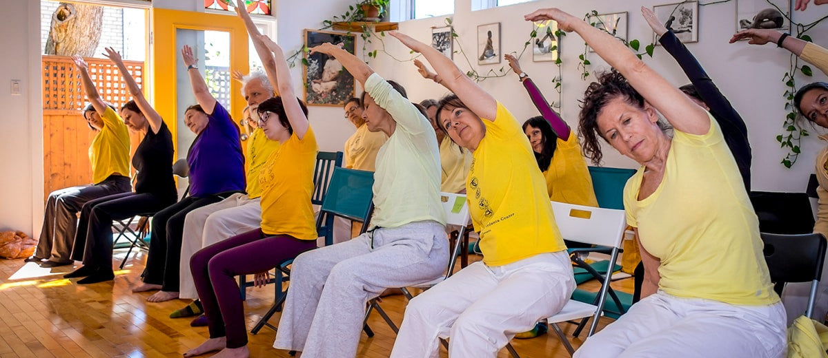 for senior adult chair exercise