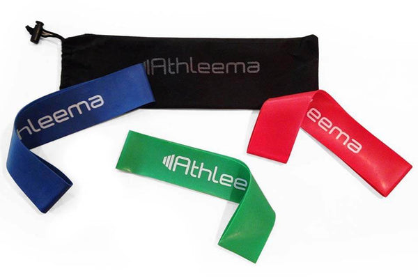 Set of 3 Loop Resistance Bands by Athleema