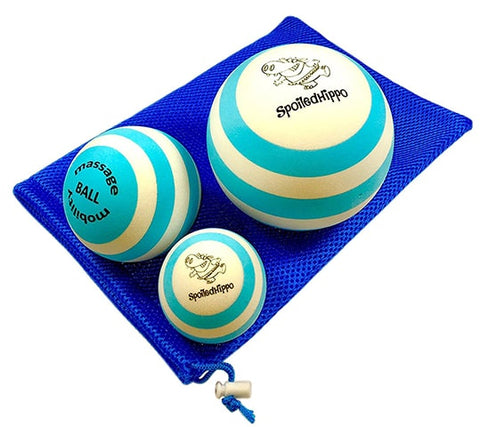 Set of 3 Massage Balls by SpoiledHippo