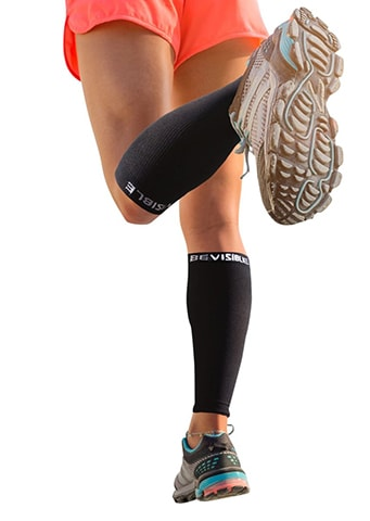 Shin Splint Leg Compression Socks by BeVisible Sports