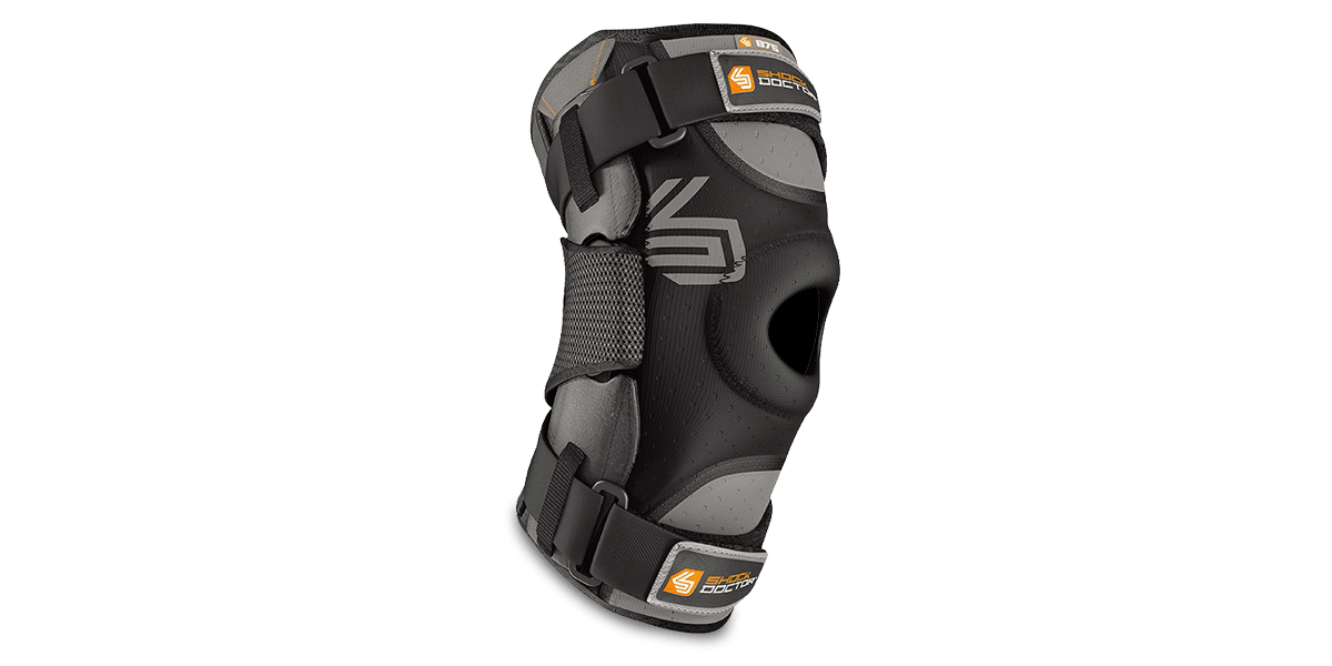 Ultra Knee Brace with Bilateral Hinges by Shock Doctor