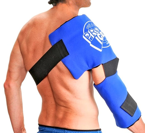 Shoulder and Elbow Cold Therapy Ice Wrap by Pro Ice