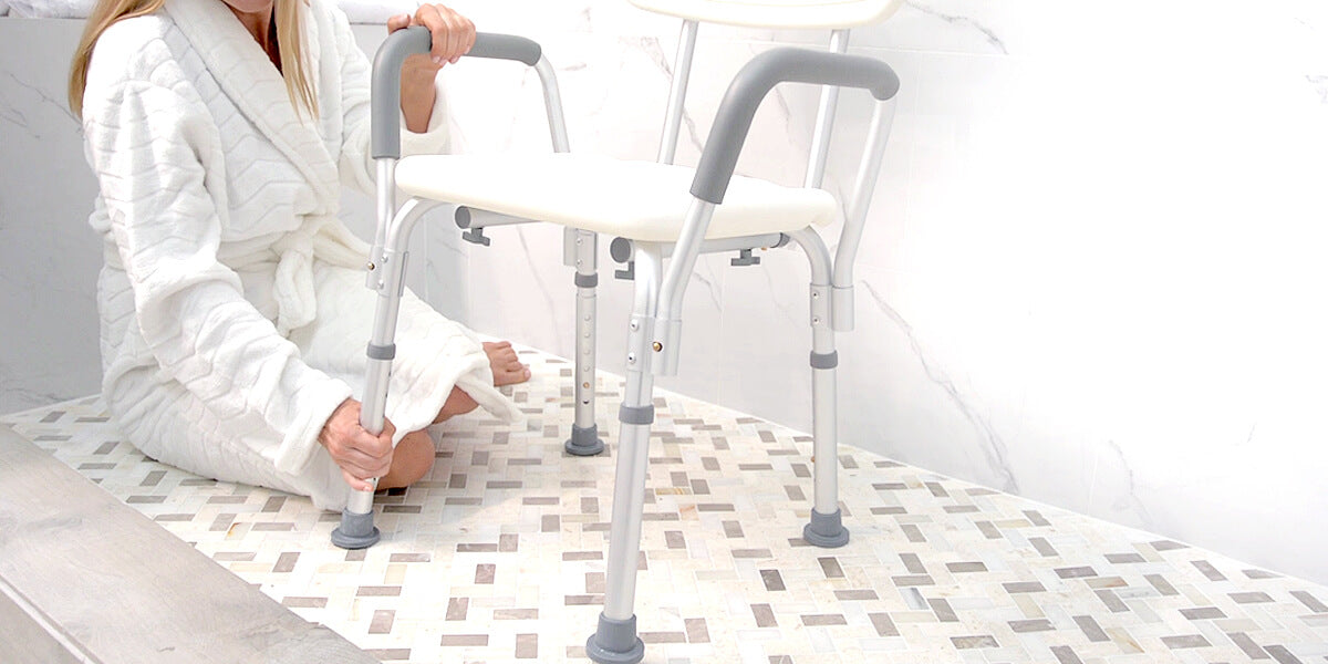 11 Best Shower Chairs for Elderly Adults - 2018 Review - Vive Health