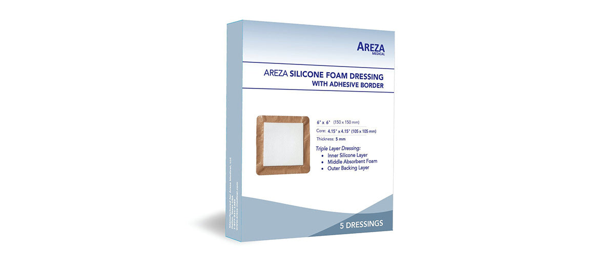 Silicone Foam Dressing by Areza Medical