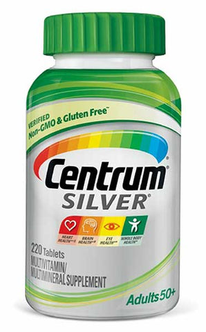 Silver Adult Multivitamin Supplement by Centrum
