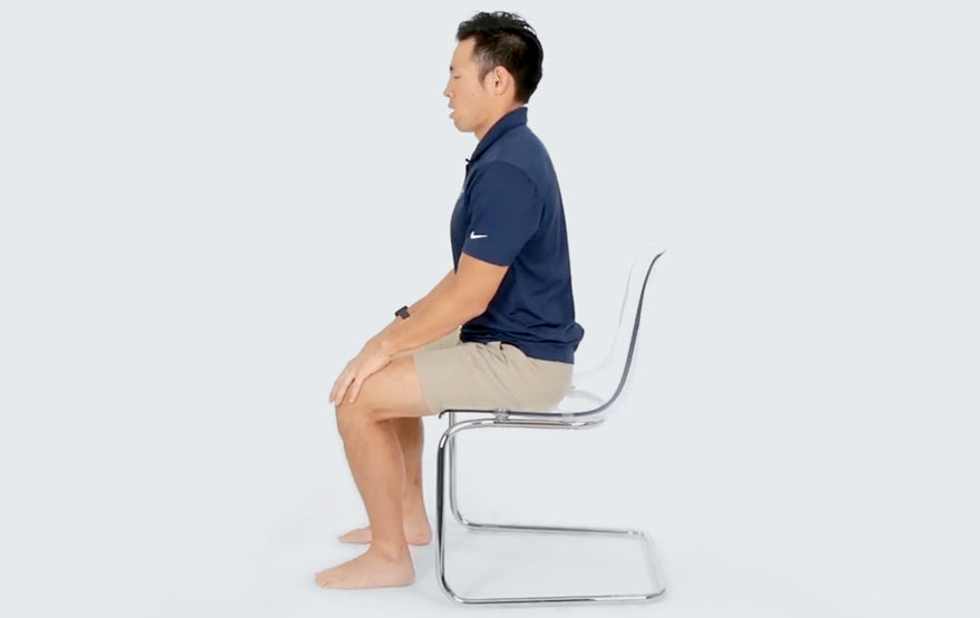 Sitting with good Posture