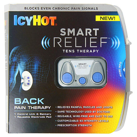 Smart Relief Back and Hip Starter TENS Unit Kit by Icy Hot