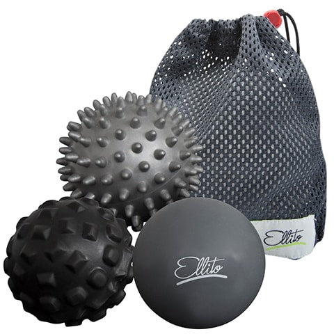 Spiky and Studded Massage Ball Set by Ellito