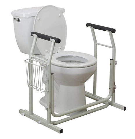 Merveilleux Stand Alone Toilet Safety Rail By Drive Medical ...