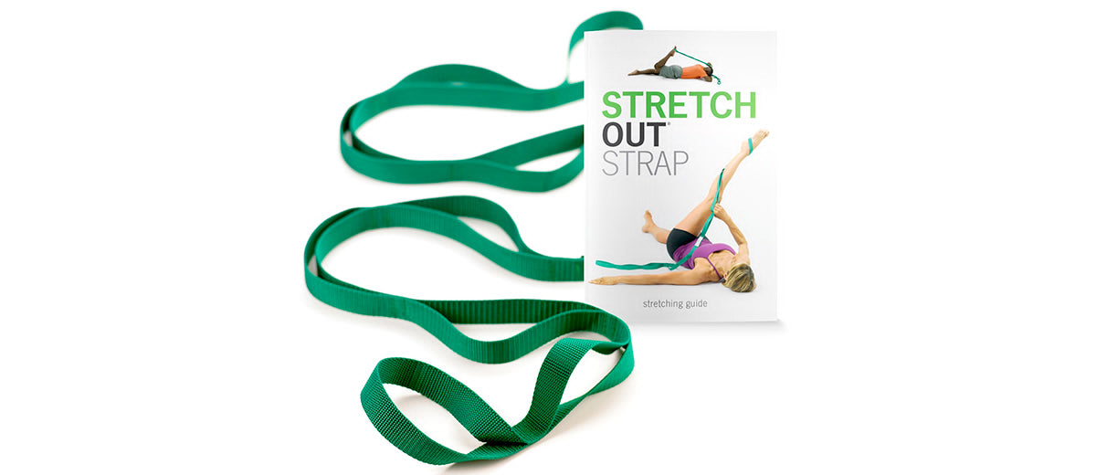 Stretch Out Strap with Exercise Book by OPTP