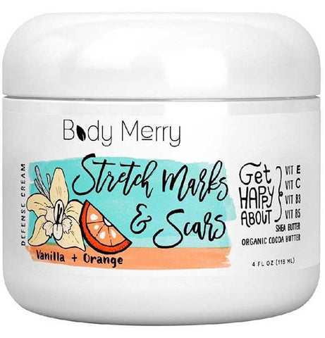Stretch Mark and Scar Defense Cream by Body Merry