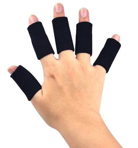 Stretchy Finger Protector Sleeves by AUCHEN
