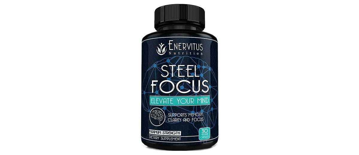Super Strength Natural Brain Booster by Enervitus Nutrition