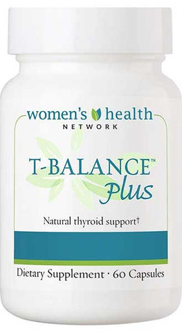 T-Balance Plus Natural Thyroid Supplement 60 capsules by Women's Health Network