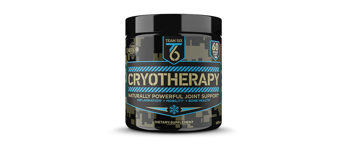 T6 Cryotherapy - Natural Joint Support Supplement by Team Six Supplements