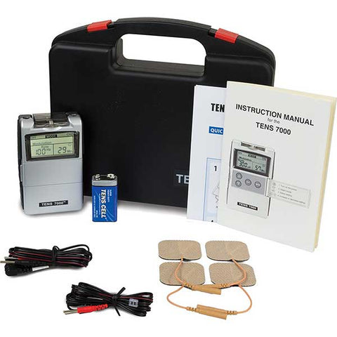TENS Unit with Accessories by Roscoe Medical
