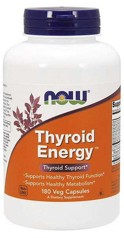 Thyroid Energy Veg Capsules by NOW Foods