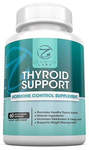 Thyroid Support Supplement by Zenwise Health
