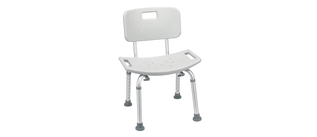 Tool-Free Assembly Shower Chair by Vaunn