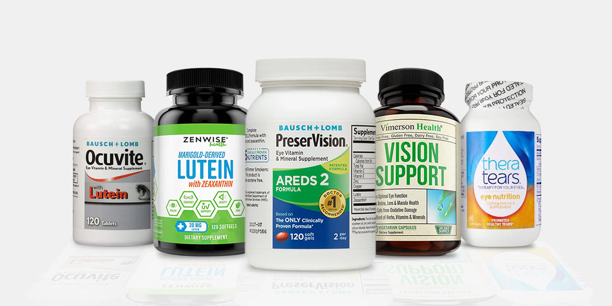 Top 5 Best Eye Supplements