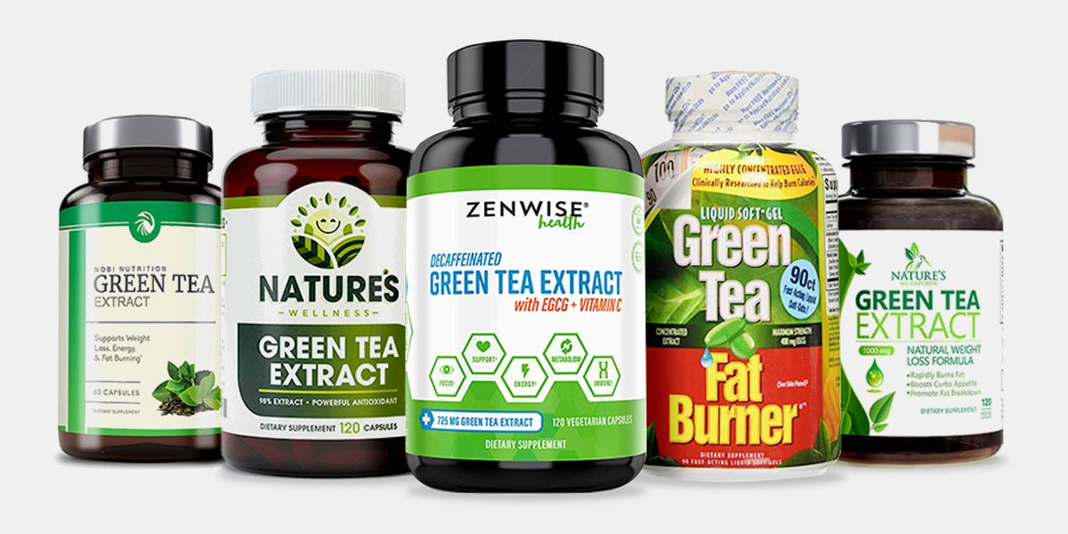 Top 3 Green Tea Extracts for Weight Loss