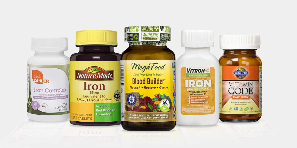 Top 5 Best Iron Supplements For Men