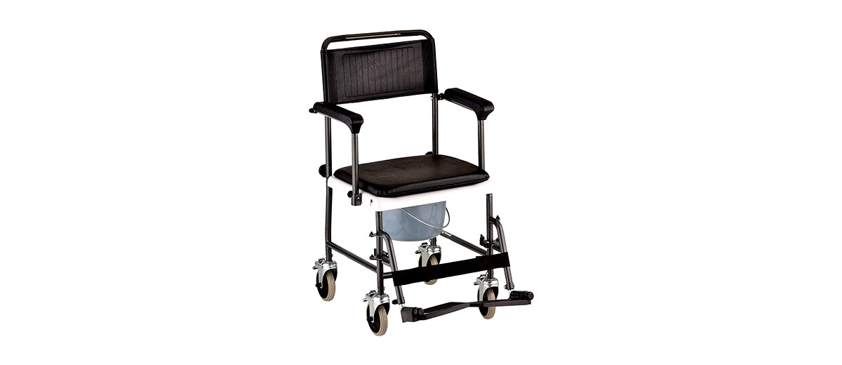Transport Chair Commode by NOVA Medical Products