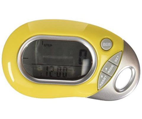 Tri-Axis Multi-Function Pocket Pedometer by HRM