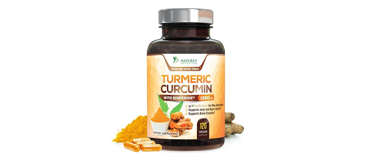 Turmeric Curcumin Joint Pain Relief by Nature's Nutrition