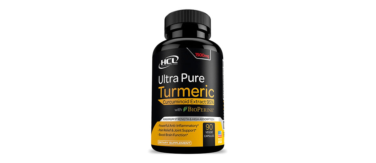 Turmeric Curcumin Supplement by Health Code Labs